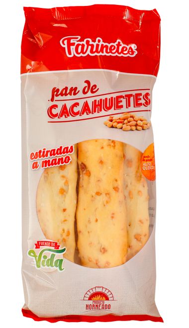 Rosquiletas de cacahuete